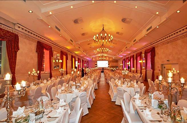 Raum Festsaal der Wolkenburg