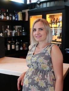 Viktoria Munz  Bankett Managerin in der Wolkenburg.