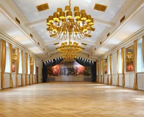 Festsaal der Eventlocation Wolkenburg in Köln!