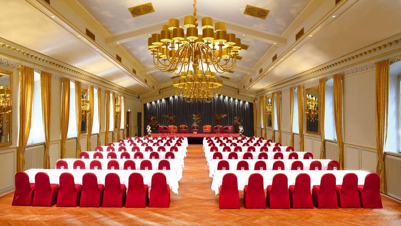 Tagung im Festsaal der Eventlocation Wolkenburg!