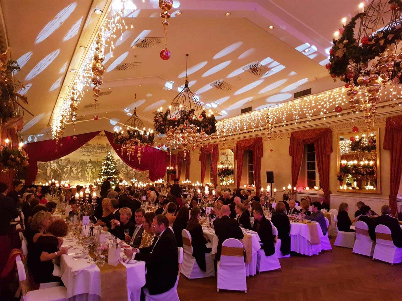 Festsaal Wolkenburg Gäste bei Silvester Gala in Köln!