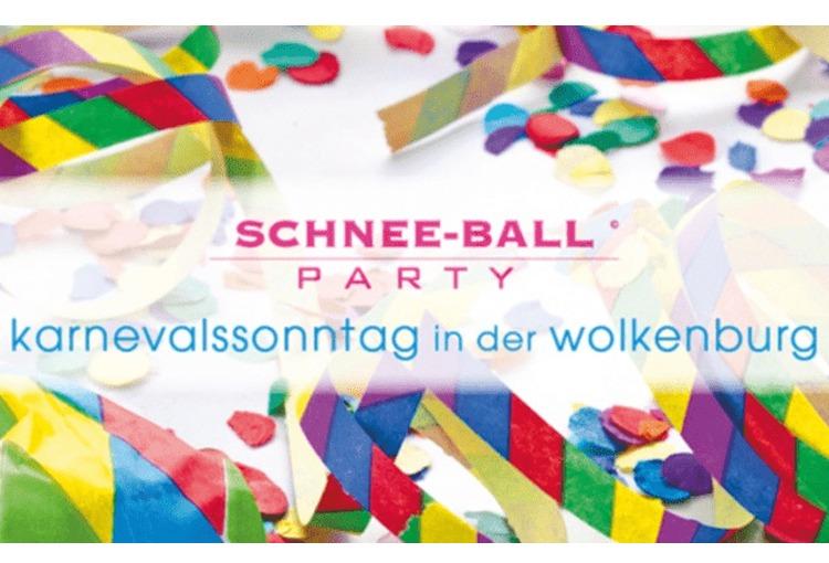 Schneeball-Party 2022 in der Eventlocation Wolkenburg!