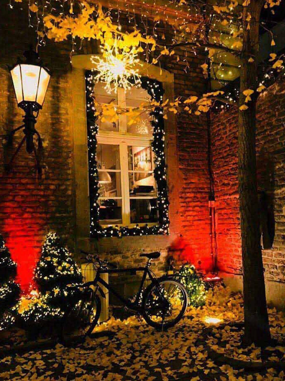Innenhof Dekoration in der Weihnachtszeit! Ihre Weihnachtsfeier in Köln!